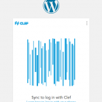 WordPress Two Factor Authentication With Clef